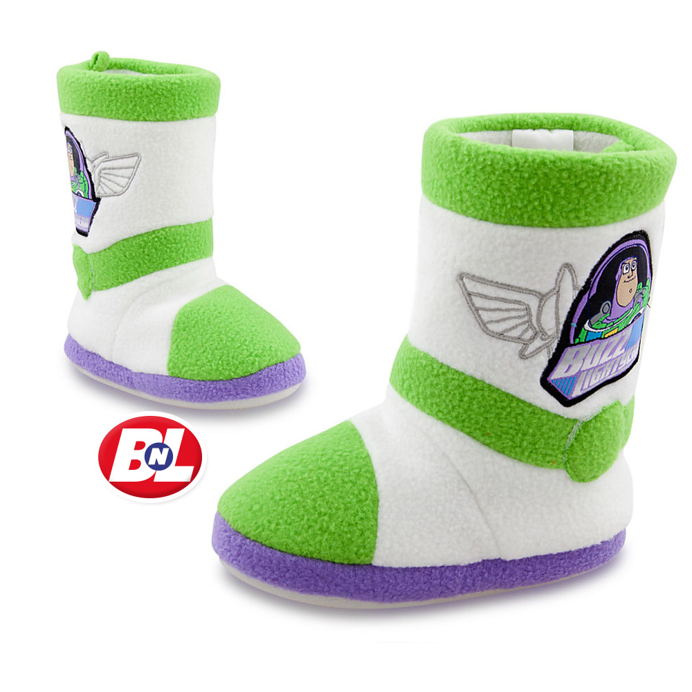 Toy Story Slippers : Welcome on buy n large toy story buzz lightyear slippers
