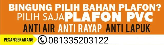 PLAFON PVC SURABAYA