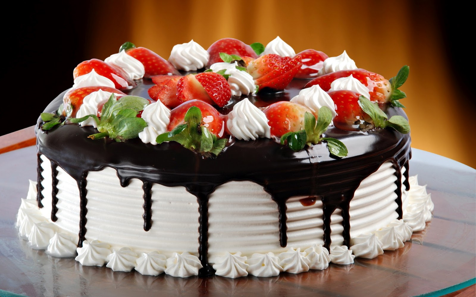 Cake Design With Strawberries : August 2014 ~ CoctSite