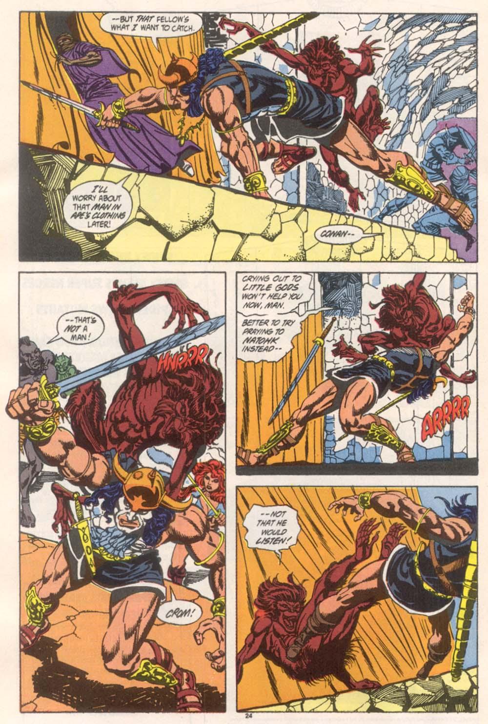 Conan the Barbarian (1970) Issue #246 #258 - English 19