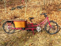 Cruising Oma (Grandma) Bike