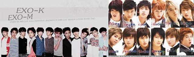 ( INFO ) EXO Favorites In Suju