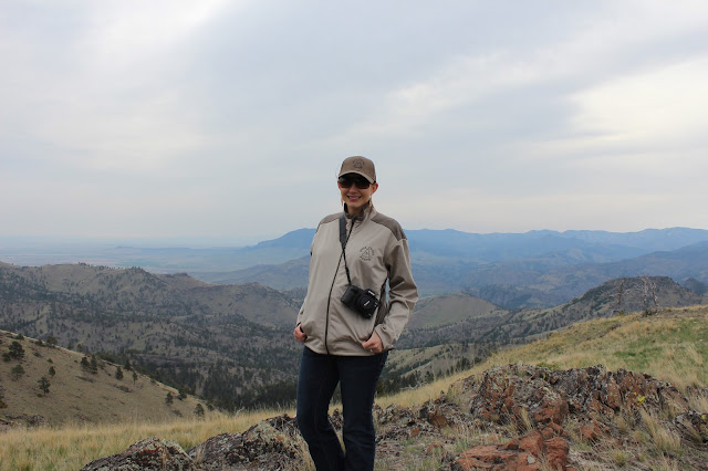 View of the wild in Montana with Amy West