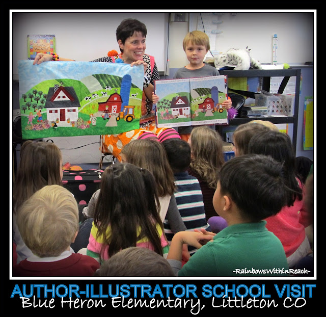 photo of: Author Illustrator School Visit: Comparing Illustration to Picture Book with Debbie Clement