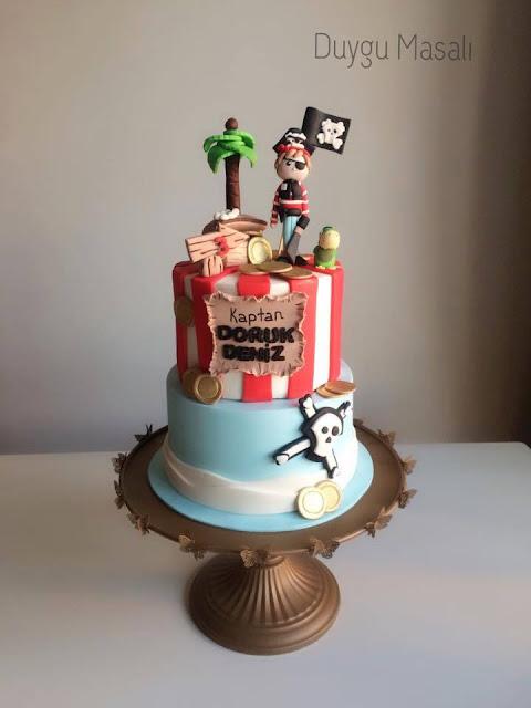 edirne korsan doğum günü pasta