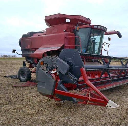 used case-ih combine for sale