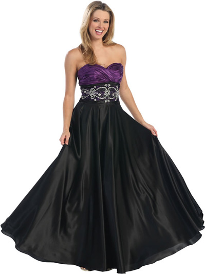 Purple And Black Wedding Dress Designs Ideas Dressespic 2013