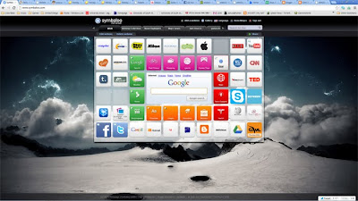 This is a screenshot of my Symbaloo set up.