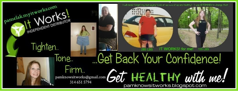 It Works! PAM WRAPS!    PamWraps.com