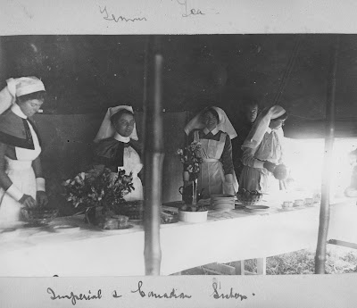 Nursing Sister WW1 Photo Album  37V Imperial and Canadian Sisters
