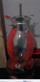 lampu minyakdari bohlam bekas