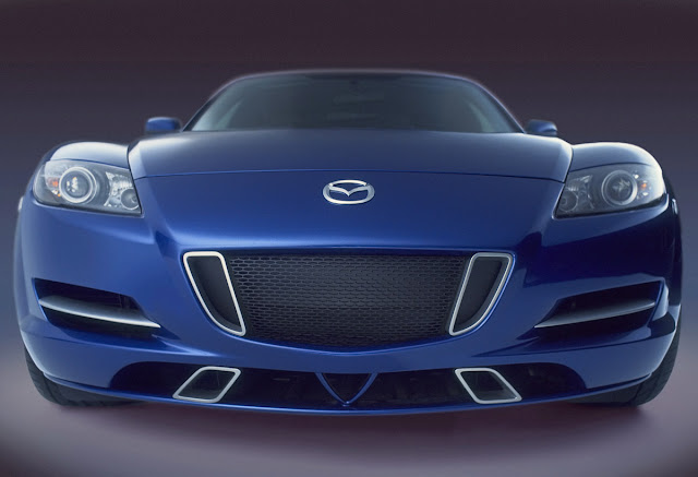 THe New Mazda RX-8 Concept at International Motor Show
