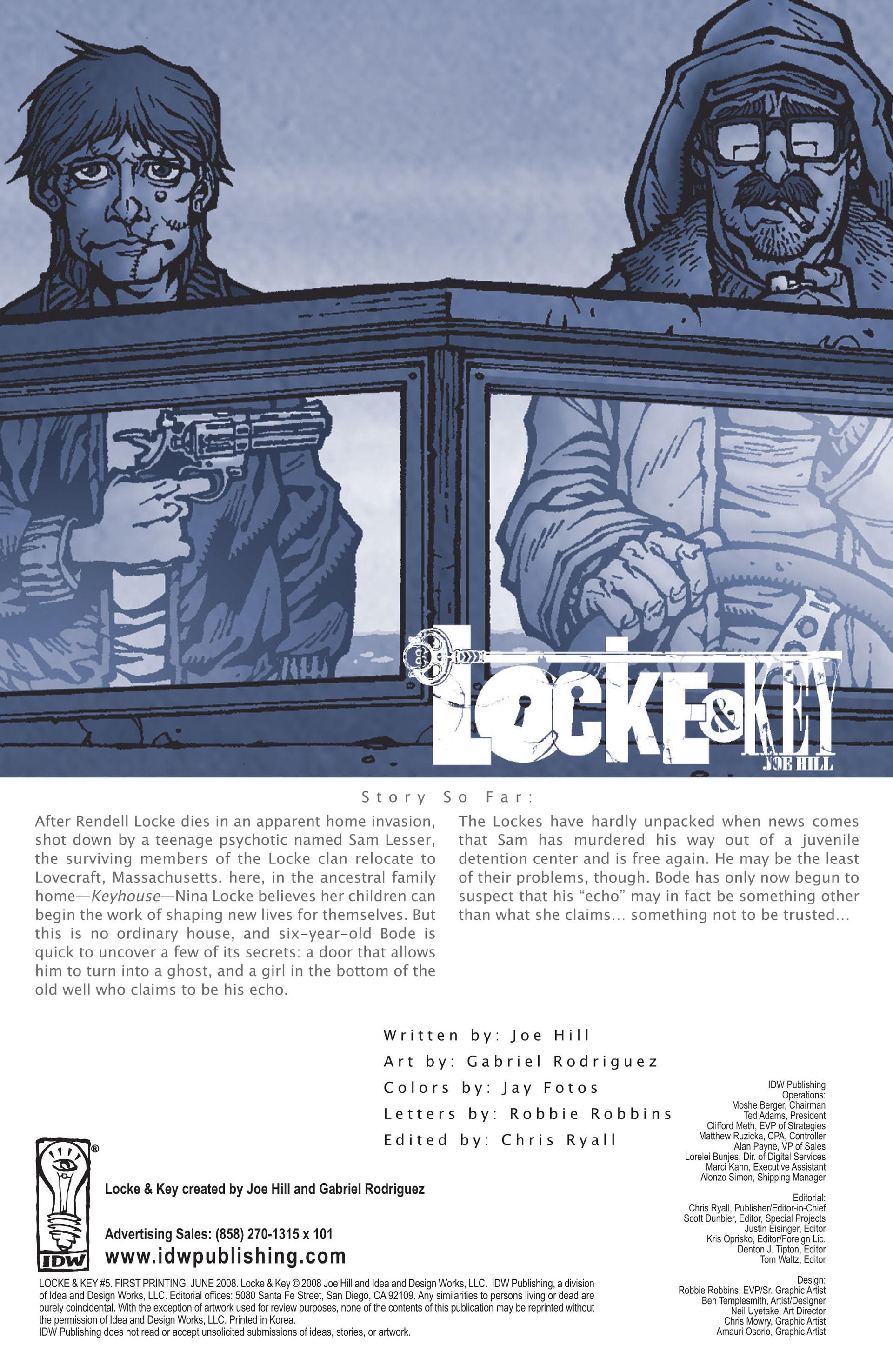 Locke & Key (2008) Issue #5 #5 - English 3