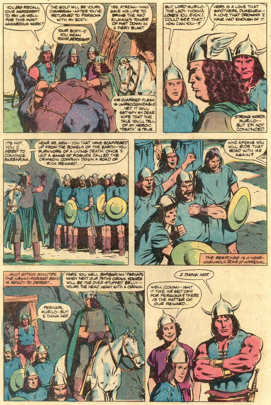 Conan the Barbarian (1970) Issue #125 #137 - English 3