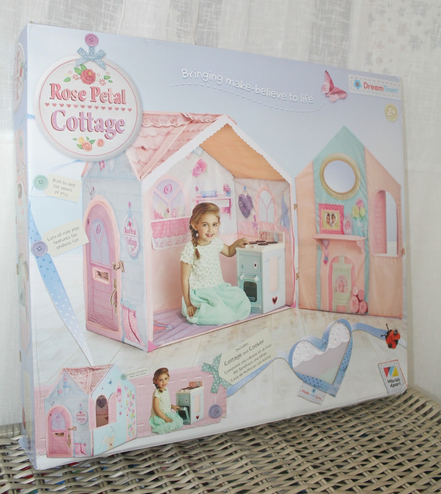 dream town rose petal cottage instructions