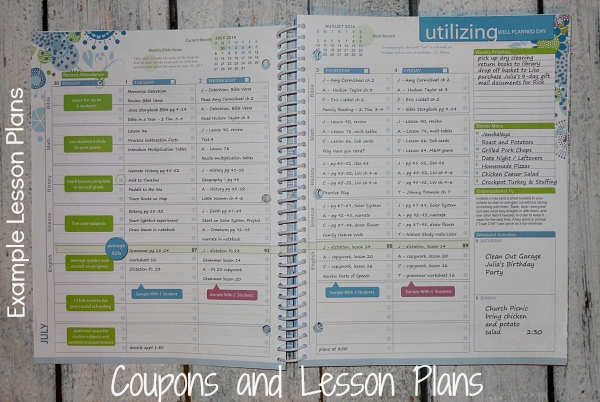 Coupons And Lesson Plans Organize Your Homeschool With The Well