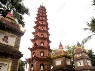 tower-Tran Quoc pagoda