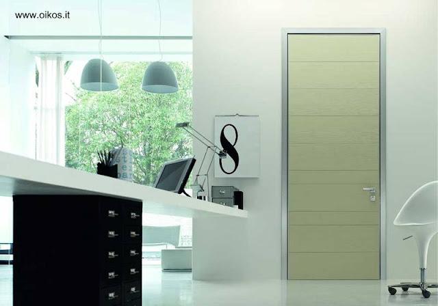 Modelo de puerta italiana para interiores