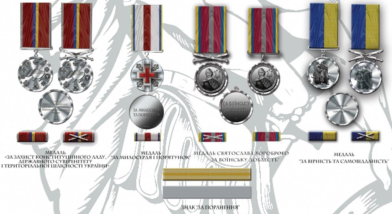 медалі України