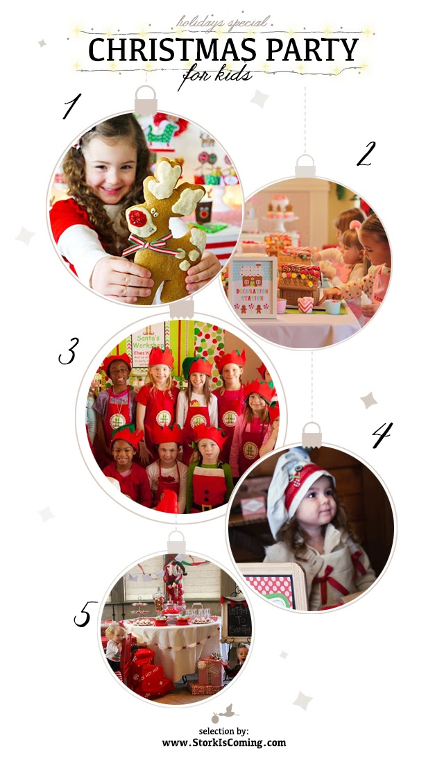 the best Christmas Parties for kids
