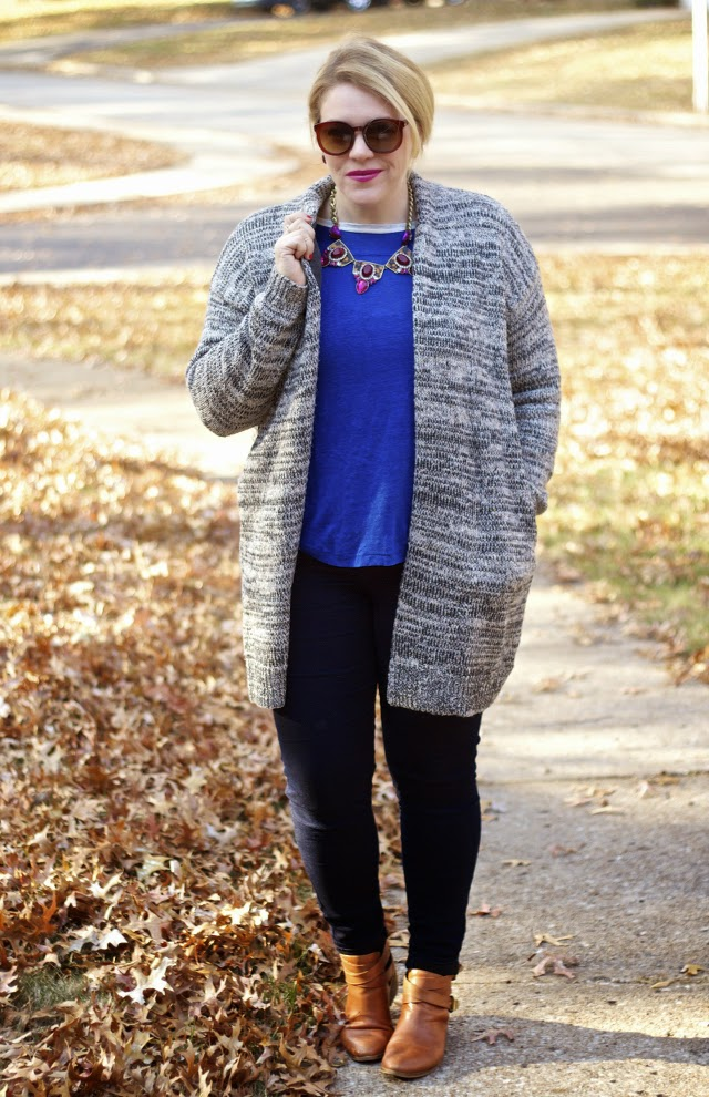 easy winter outfit for cold day
