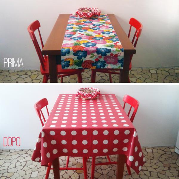 Cucina tavolo e sedie prima e dopo sweet home via zara - Ikea runner tavolo ...