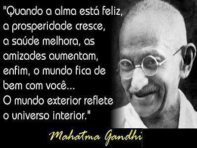 Frases E Máximas De Amor Mahatma Gandhi