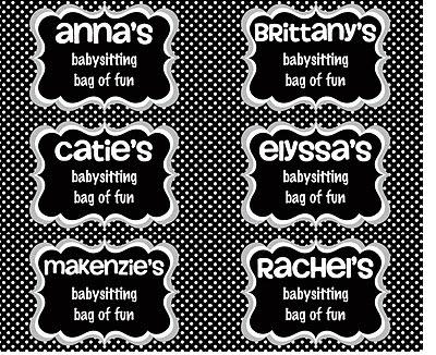babysitting names