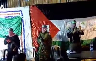 Ισλαμιστές της Χαμάς οπλισμένοι με καλάσνικοφ μέσα στα Ιεροσόλυμα (βίντεο)