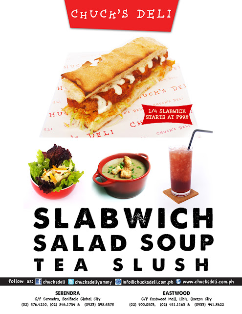 Chuck's Deli Now Offers 1/4 Slabwiches and Lunch Bag!