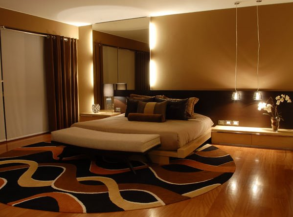 Decoraci n y afinidades decoraci n de dormitorio matrimonial - Iluminacion de dormitorios ...