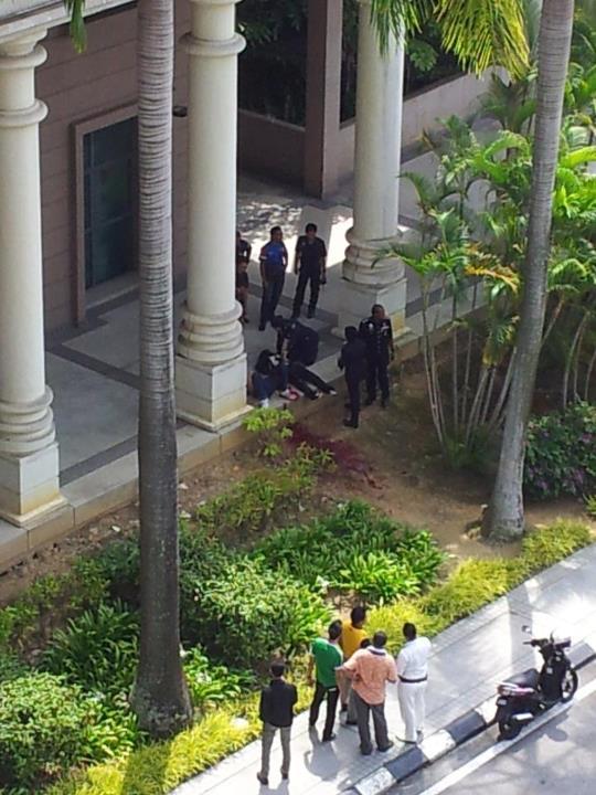 Pasangan Menyerang JPM Putrajaya Ditembak
