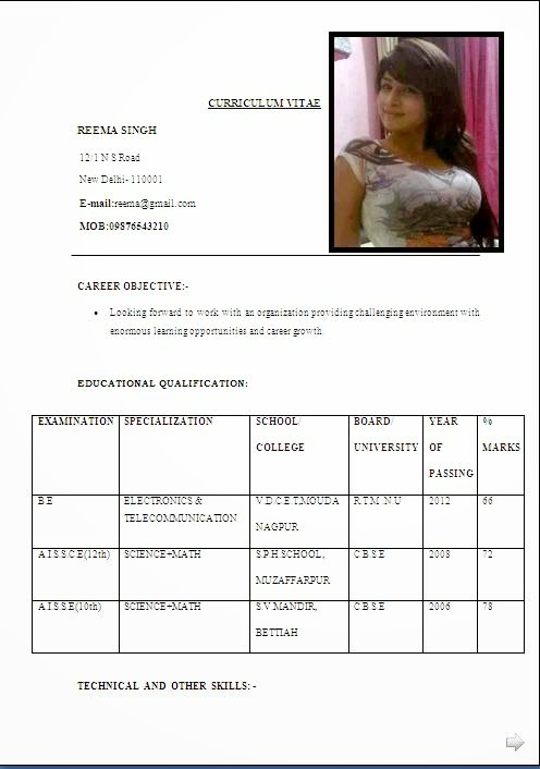 biodata format for marriage word