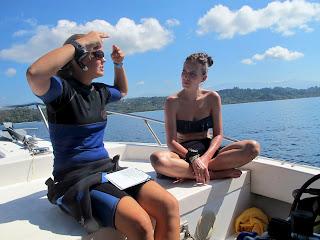 PADI scuba instructor costa rica