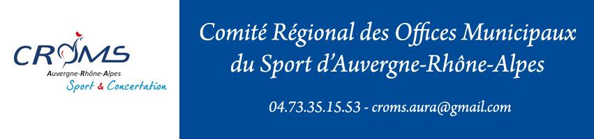Comité Régional des Offices Municipaux de Sport d'Auvergne-Rhônes-Alpes