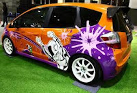 Honda Jazz Cool Modification