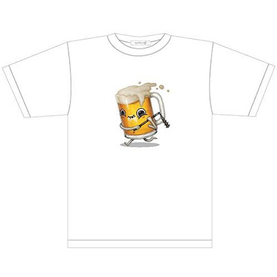 "San Diego Comic-Con 2015 Exclusive Gallery Nucleus T-Shirts - ""Beer"" T-Shirt by Mike Mitchell"