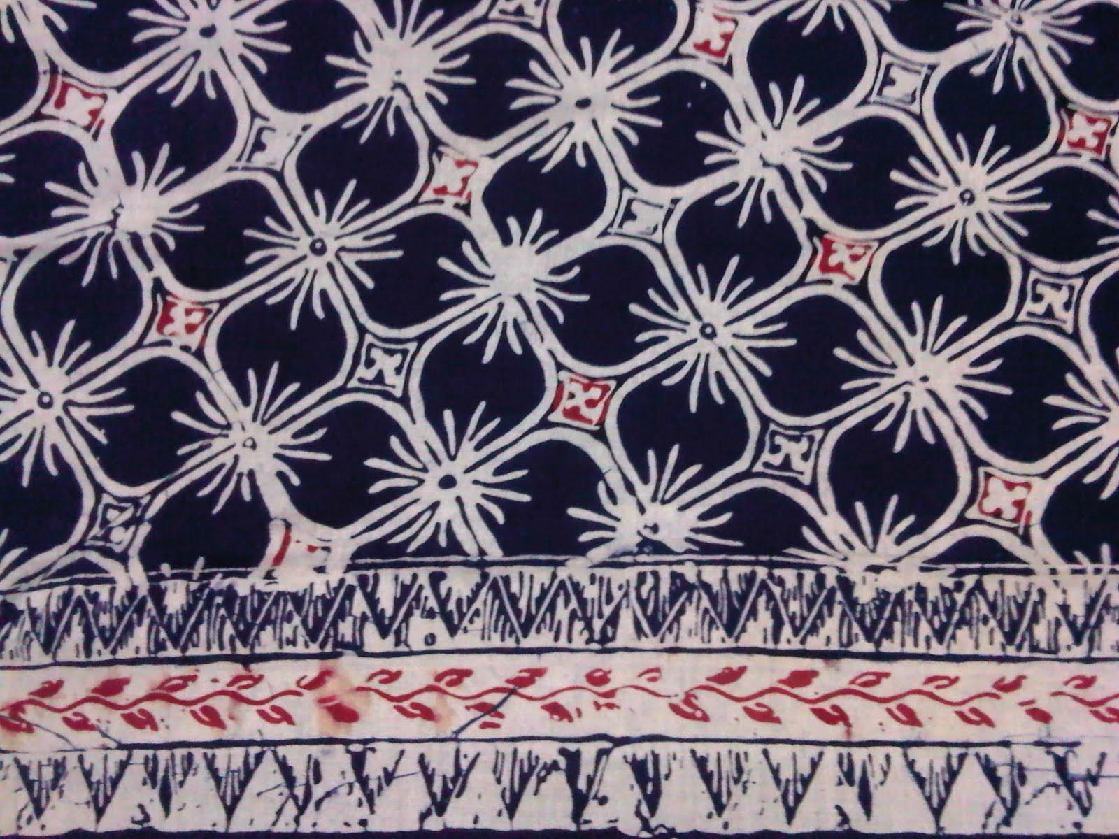 Berikut contoh batik Garutan motif kawung dan maknanya :