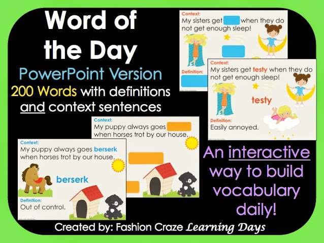 Interactive Word of the Day