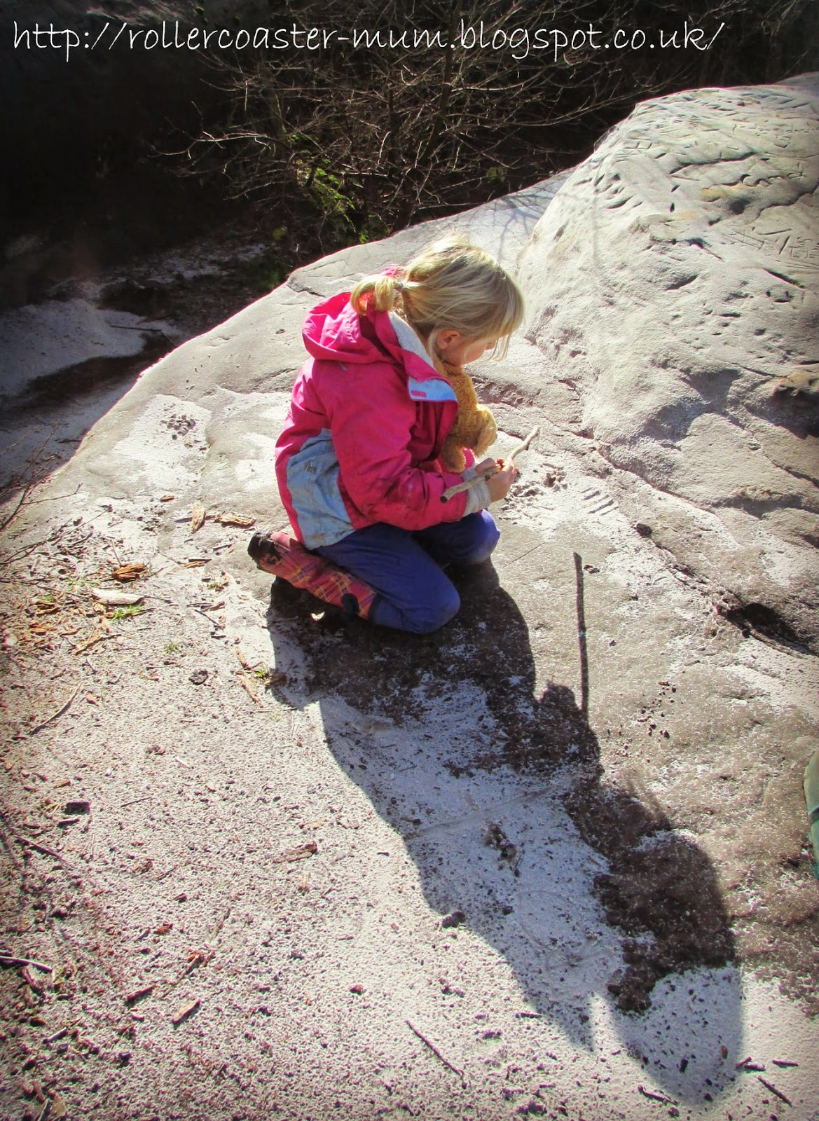 sand play, Woodland Trust