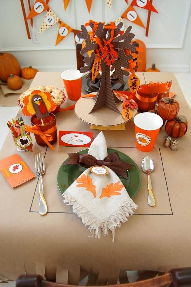 Fiesta de Acción de Gracias - Thanksgiving Party Ideas