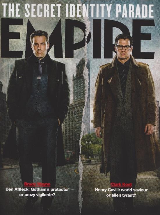 Bruce Wayne y Clark Kent en Batman V Superman