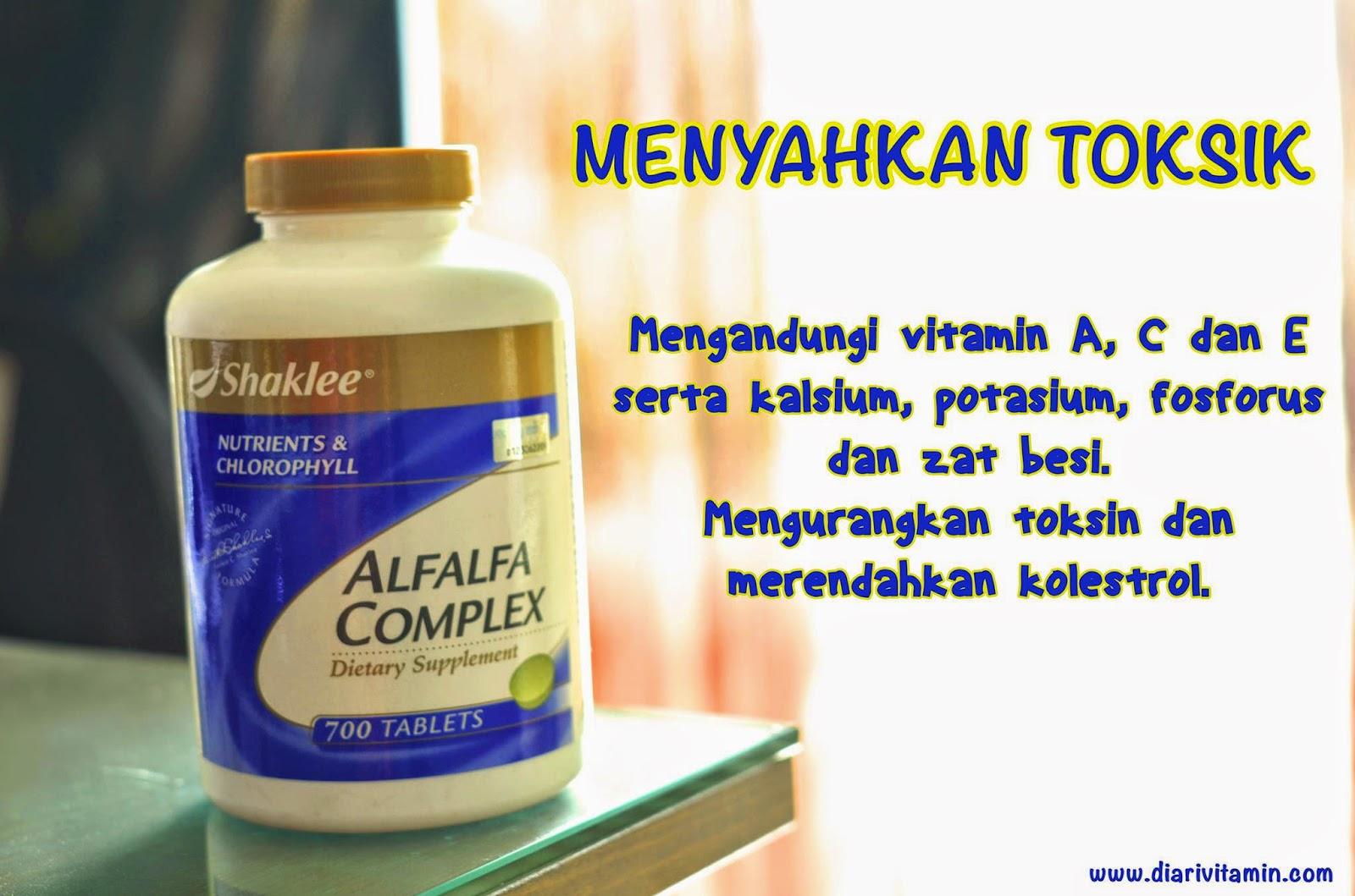 Manfaat Alfalfa Shakle