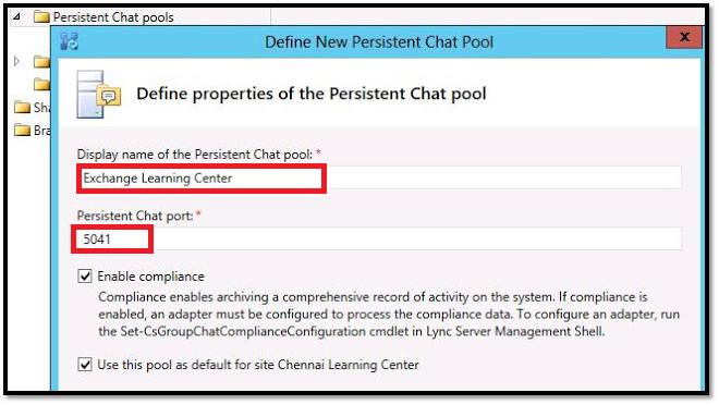 <b>Lync 2013 Persistent Chat</b> Installation - collaborationpro.com
