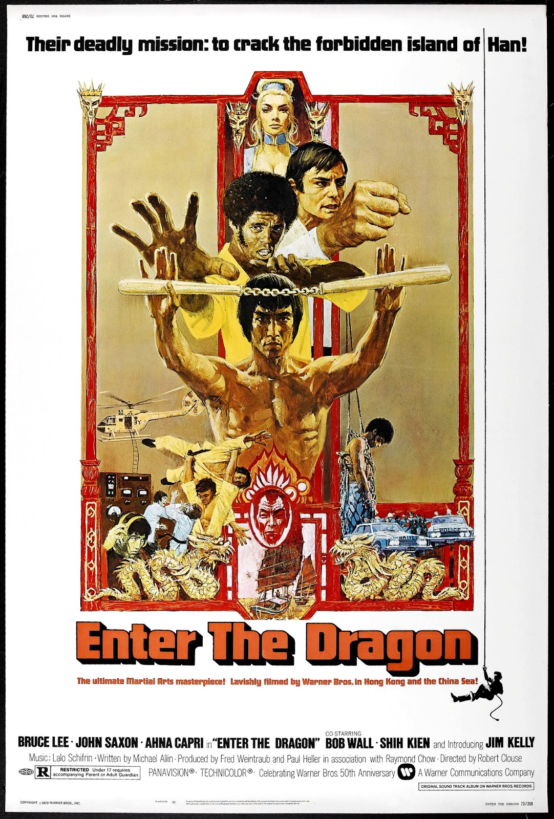 Film Reviews from the Cosmic Catacombs: Enter the Dragon ...