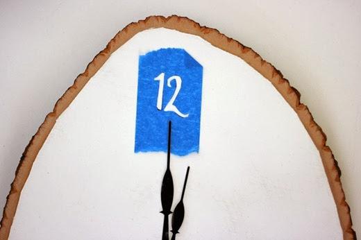 طريقة رسم رقم 12 بتقنية البوشوار