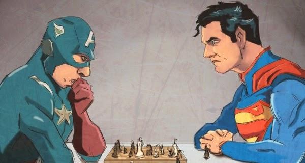 Superman vs Capitán América en 2016