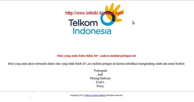 Cara Menghilangkan Internet Positif (membuka Situs Yang Dibuka Telkom