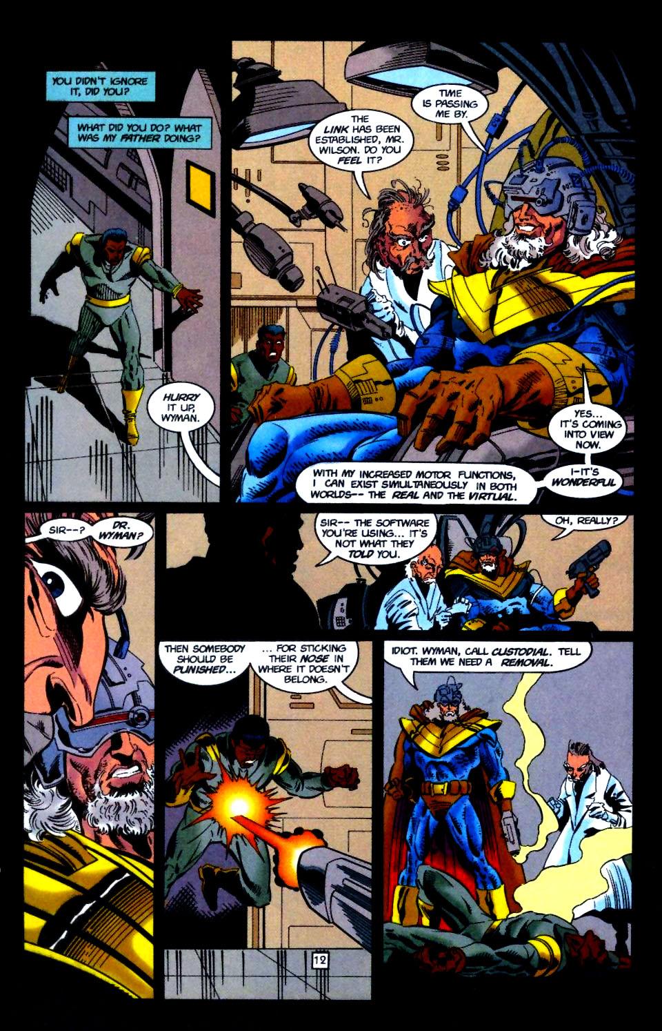 Deathstroke (1991) Issue #51 #56 - English 13