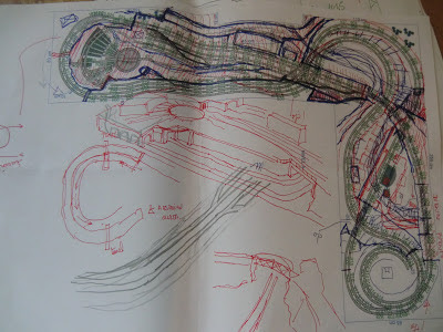 planos inicio de una maqueta escala N